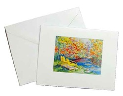 Art Print Note Card and Envelope