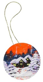 Art Print Gift Tags, Place Cards, and Tree Ornaments Page